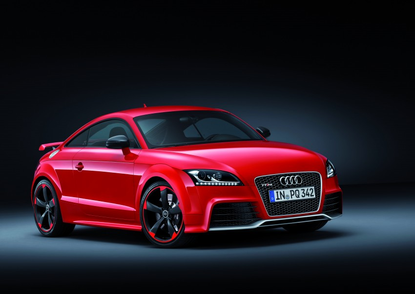 Audi TT RS Plus: 5-cylinder turbo with more power! Image #86757