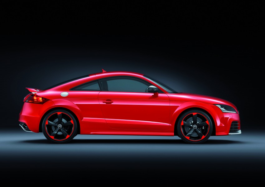 Audi TT RS Plus: 5-cylinder turbo with more power! Image #86764