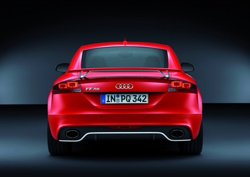 Audi TT RS Plus: 5-cylinder turbo with more power! Image #86774