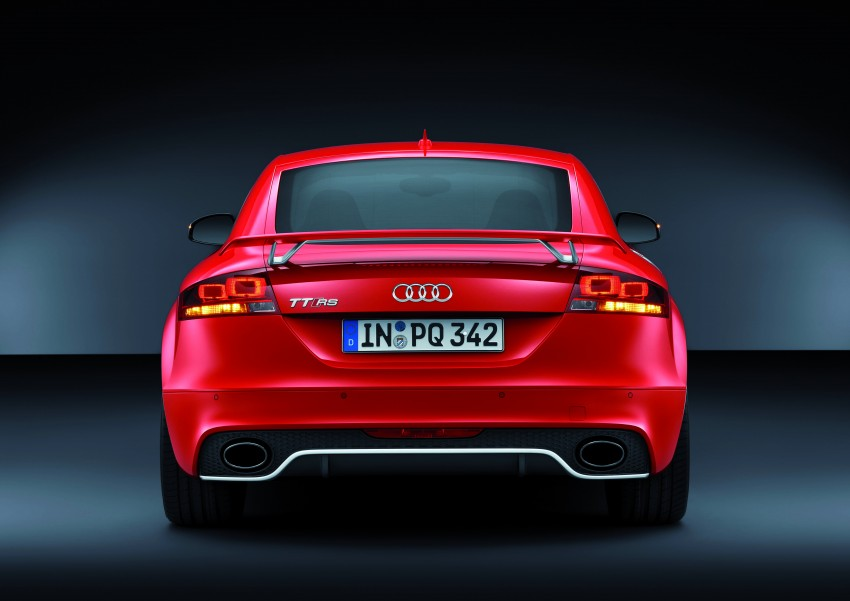 Audi TT RS Plus: 5-cylinder turbo with more power! Image #86776