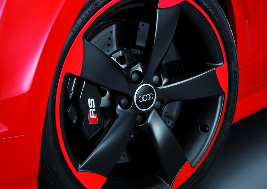 Audi TT RS Plus: 5-cylinder turbo with more power! Image #86790