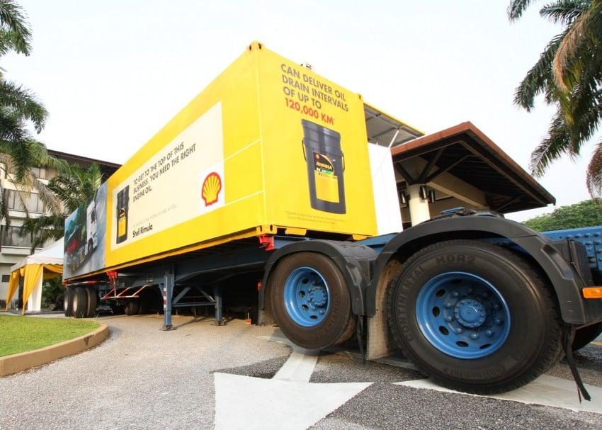 Shell Rimula Hardworking Truck – change of venue Image #115043