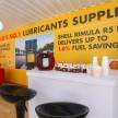 The Shell Rimula Hardworking Truck will treat truck drivers with free coffee, cold drinks and hot snacks at designated rest stops