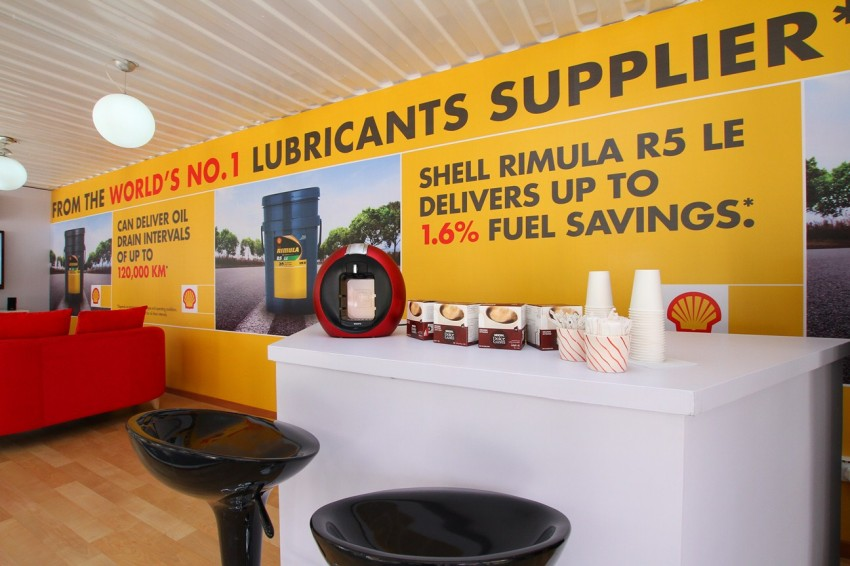 Shell Rimula Hardworking Truck – change of venue Image #115044