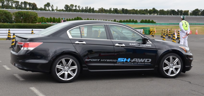 Honda Earth Dreams 2012 – new seven-speed Sport Hybrid Intelligent Dual Clutch Drive system unveiled Image #141441