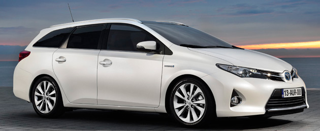 new toyota auris touring sports for europe detailed