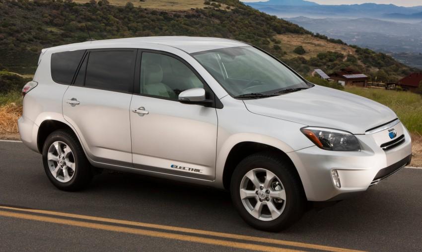 Toyota RAV4 EV – all-electric SUV makes its debut in LA Image #105213