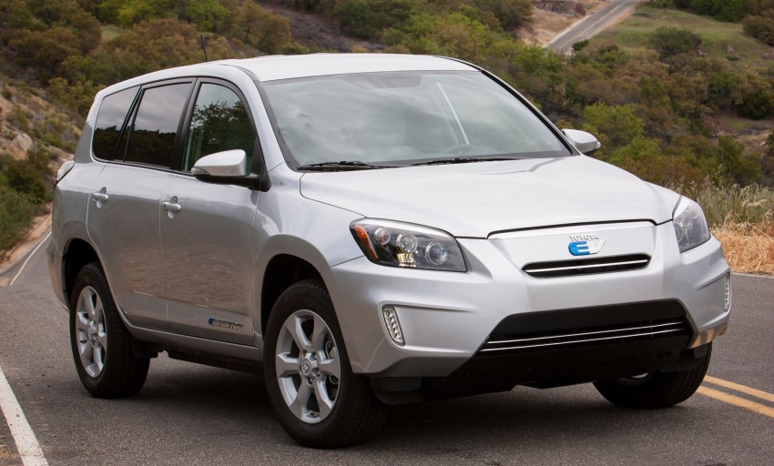 Toyota RAV4 EV – all-electric SUV makes its debut in LA Image #105231