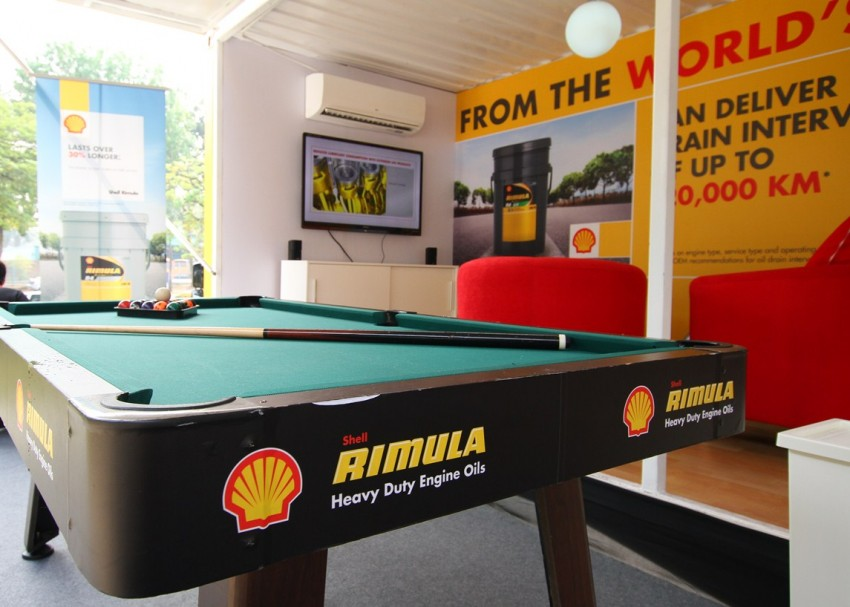 Shell Rimula Hardworking Truck – change of venue Image #115045