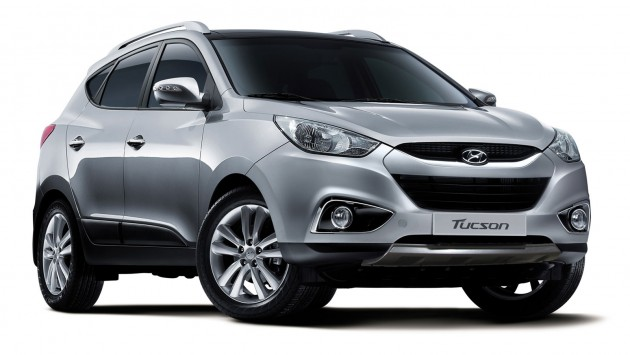 hyundai tucson updated - new features and variants