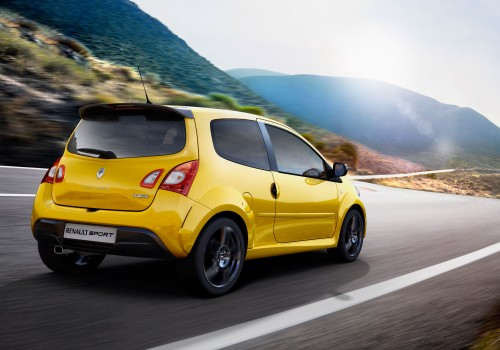 Renault Twingo R S  133 in Euro showrooms from April 23
