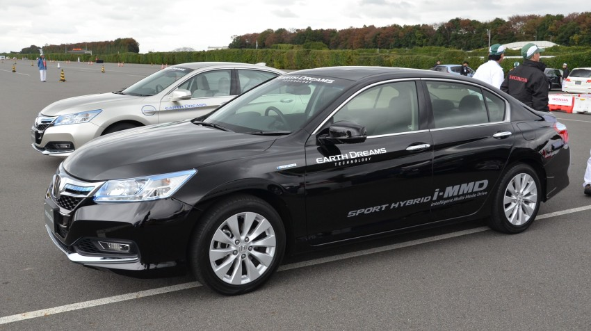 Honda Earth Dreams 2012 – new seven-speed Sport Hybrid Intelligent Dual Clutch Drive system unveiled Image #141409