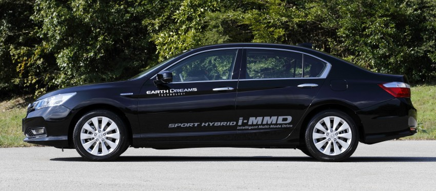 Honda Earth Dreams 2012 – new seven-speed Sport Hybrid Intelligent Dual Clutch Drive system unveiled Image #141408