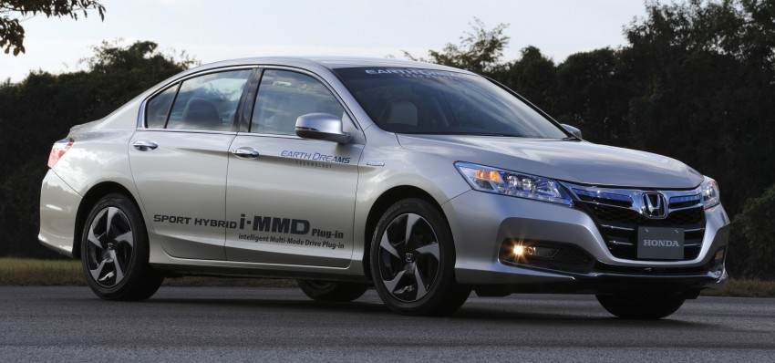 Honda Earth Dreams 2012 – new seven-speed Sport Hybrid Intelligent Dual Clutch Drive system unveiled Image #141404