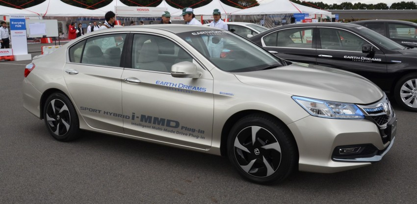 Honda Earth Dreams 2012 – new seven-speed Sport Hybrid Intelligent Dual Clutch Drive system unveiled Image #141402