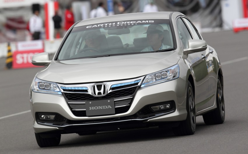 Honda Earth Dreams 2012 – new seven-speed Sport Hybrid Intelligent Dual Clutch Drive system unveiled Image #141501