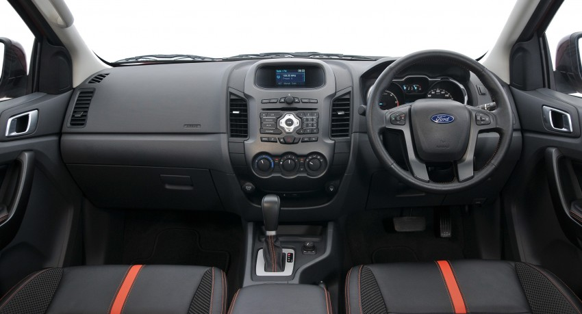 Wildtrak Interior