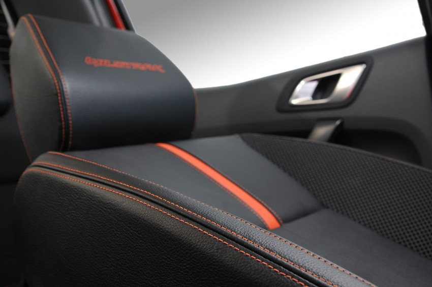 Wildtrak Premium Fabric & Semi Leather Interior