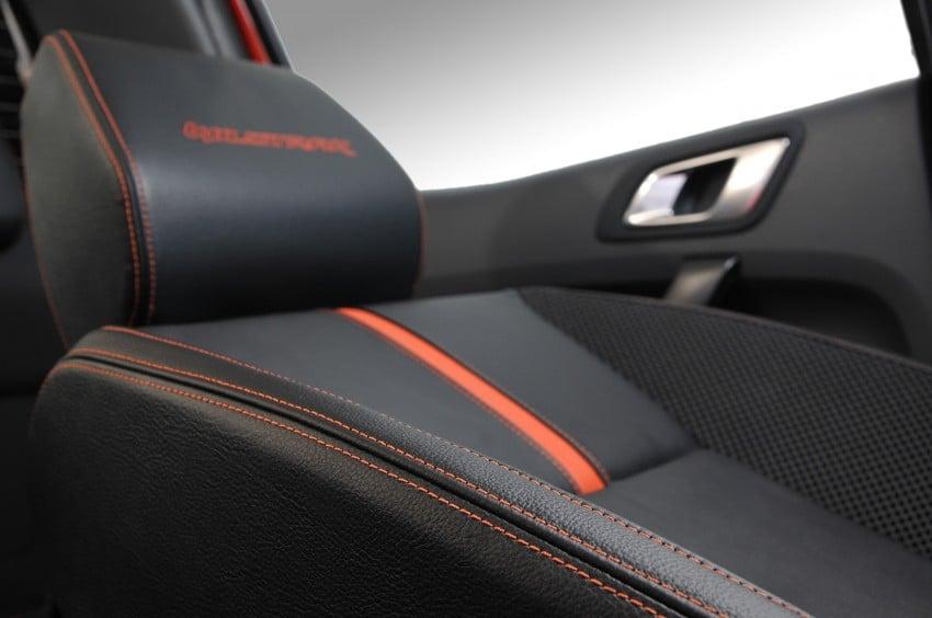 Wildtrak Premium Fabric & Semi Leather Interior
