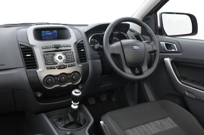 XLT Manual Interior