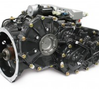 Xtrac 1010 hybrid transmission front left view