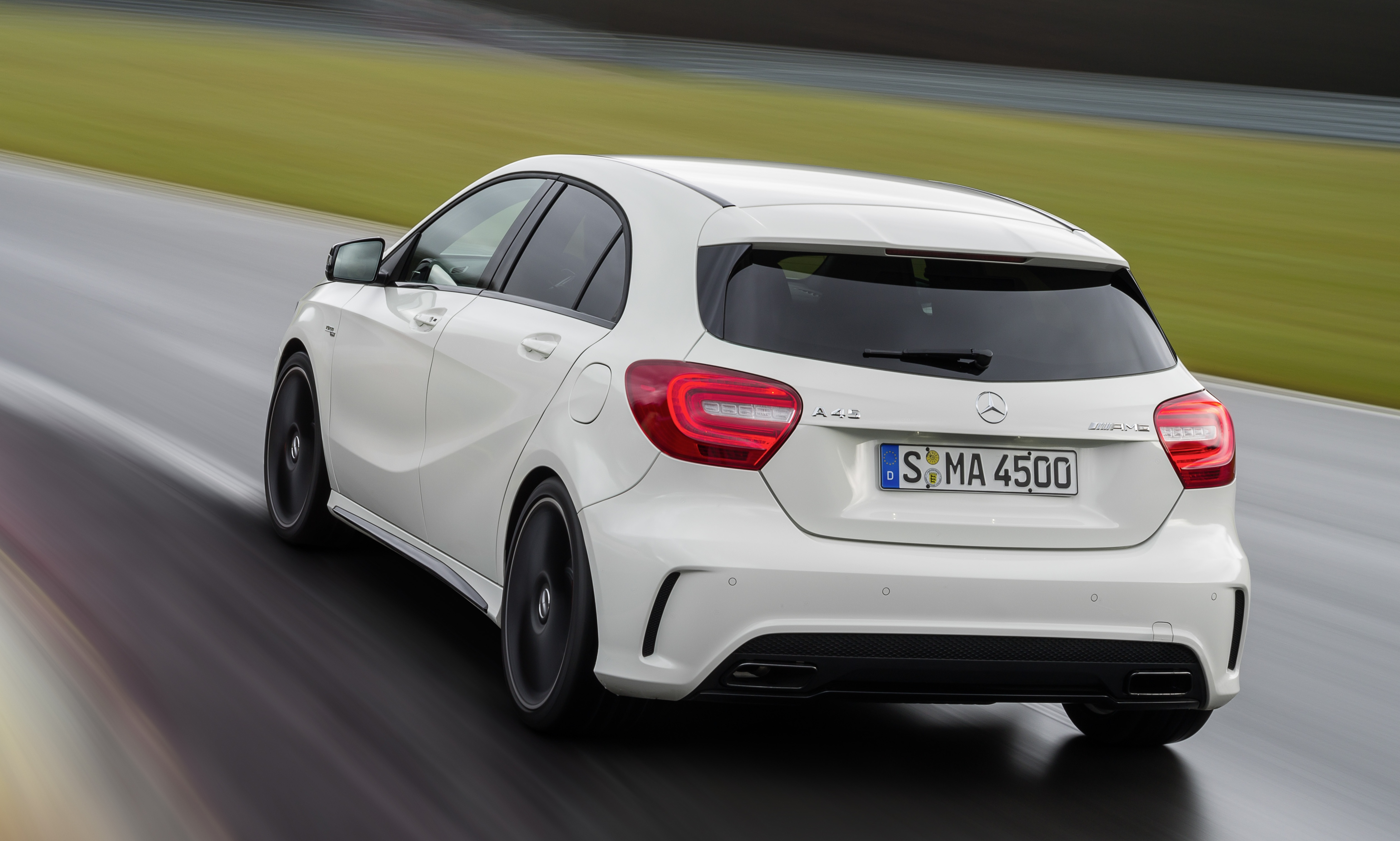 Mercedes benz a 45 amg 360hp 450nm range topper image 154452 for Mercedes benz amg range