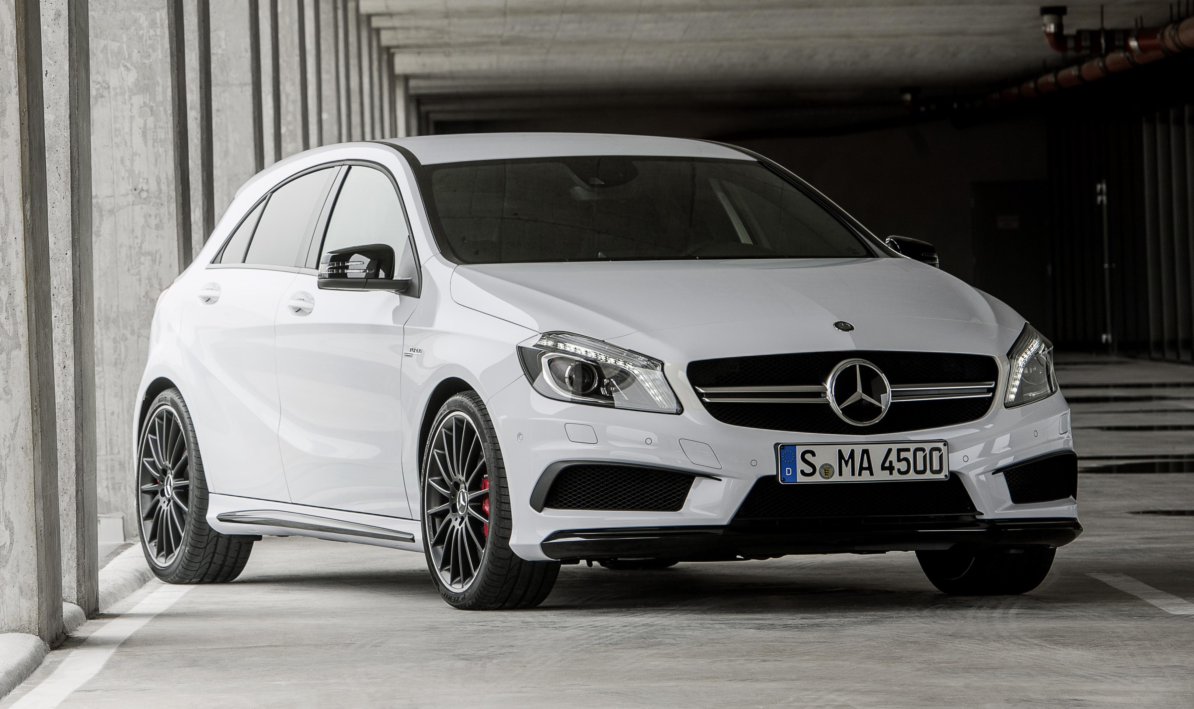 Mercedes benz a 45 amg 360hp 450nm range topper image 154447 for Mercedes benz range