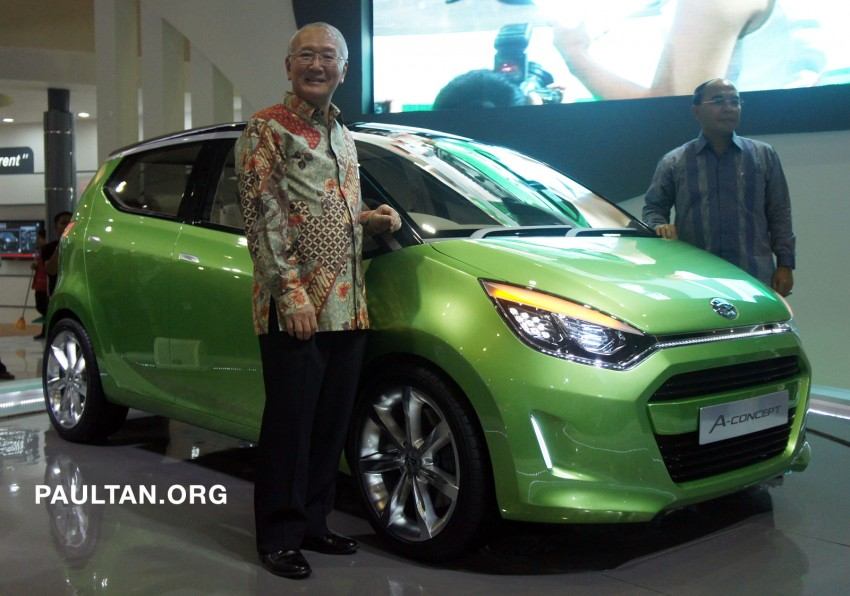IIMS: Daihatsu A-Concept – by Indonesia, for the world Image #63379