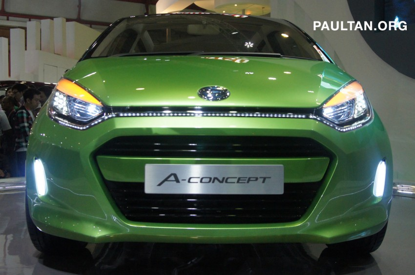 IIMS: Daihatsu A-Concept – by Indonesia, for the world Image #63380