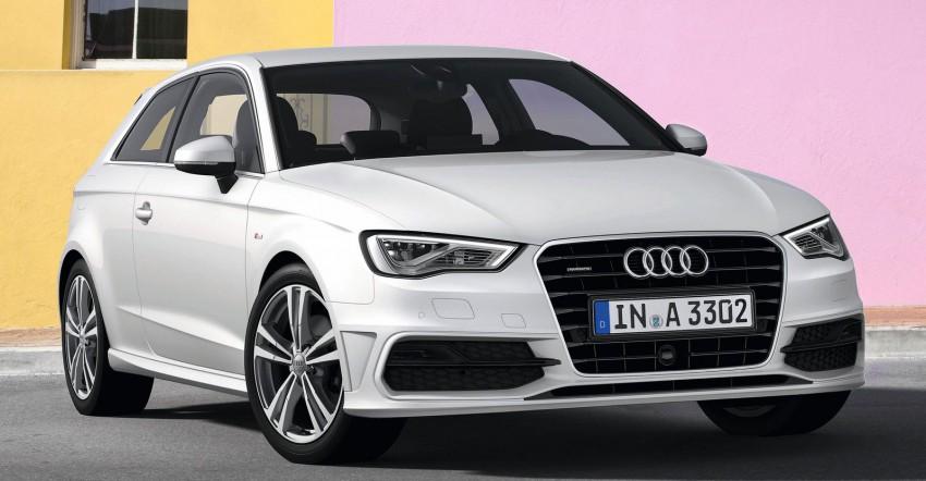New Audi A3 – third-gen compact makes Geneva debut Image #92403