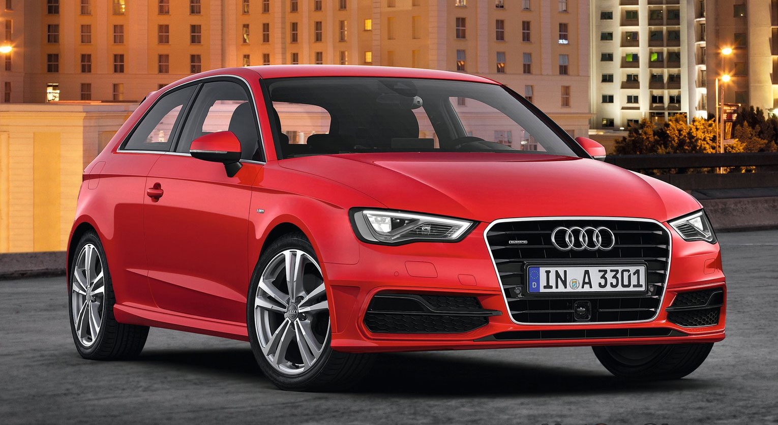 new audi a3 third gen compact makes geneva debut. Black Bedroom Furniture Sets. Home Design Ideas