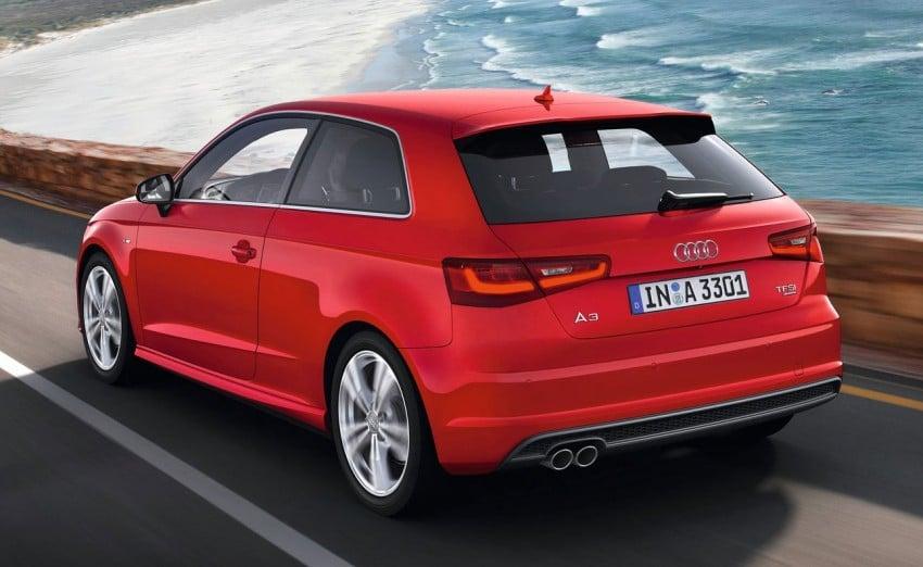 New Audi A3 – third-gen compact makes Geneva debut Image #92406