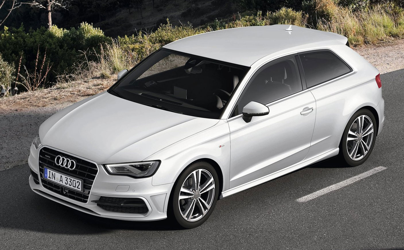 new audi a3 third gen compact makes geneva debut image 92410. Black Bedroom Furniture Sets. Home Design Ideas
