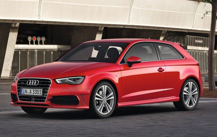 New Audi A3 – third-gen compact makes Geneva debut Image #92411