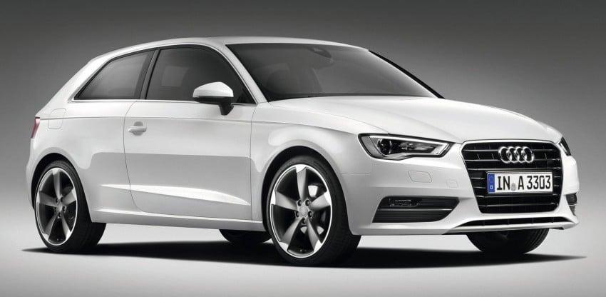 New Audi A3 – third-gen compact makes Geneva debut Image #92419