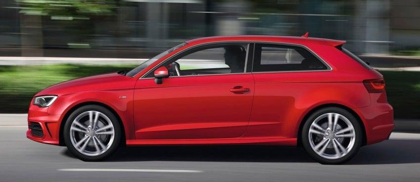 New Audi A3 – third-gen compact makes Geneva debut Image #92420