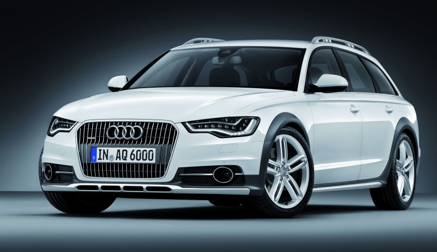 Audi A6 allroad quattro – the Avant that drives on all roads Image #92674