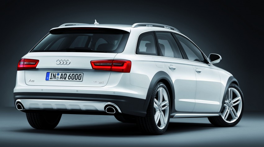 Audi A6 allroad quattro – the Avant that drives on all roads Image #92673