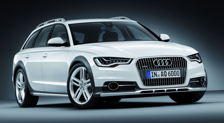 Audi A6 allroad quattro – the Avant that drives on all roads Image #92672