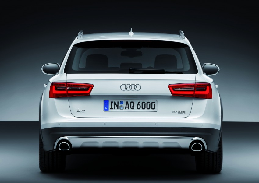 Audi A6 allroad quattro – the Avant that drives on all roads Image #92670