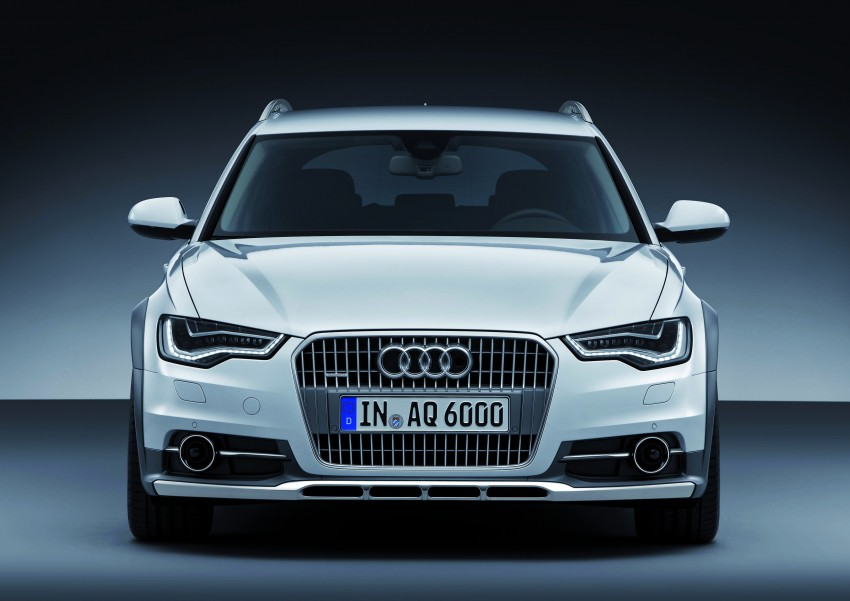 Audi A6 allroad quattro – the Avant that drives on all roads Image #92669