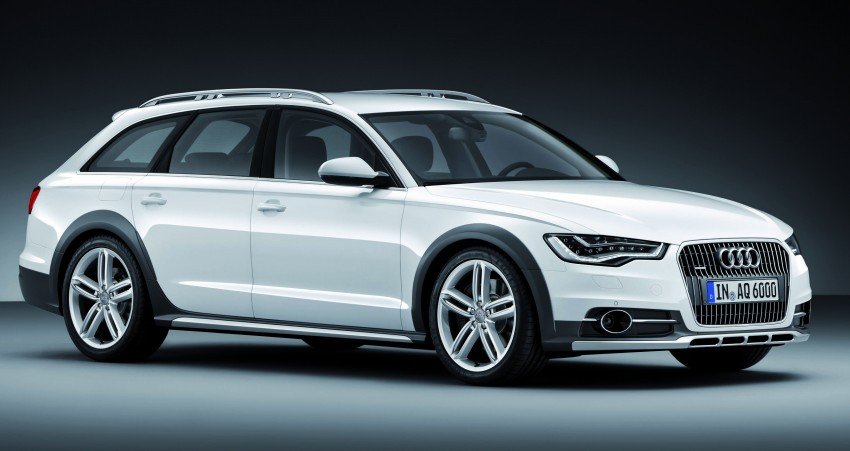 Audi A6 allroad quattro – the Avant that drives on all roads Image #92667