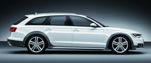 Audi A Allroad Quattro The Avant That Drives On All Roads - Audi allroad ground clearance