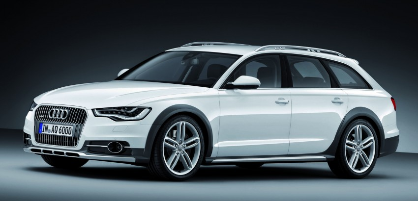 Audi A6 allroad quattro – the Avant that drives on all roads Image #92665