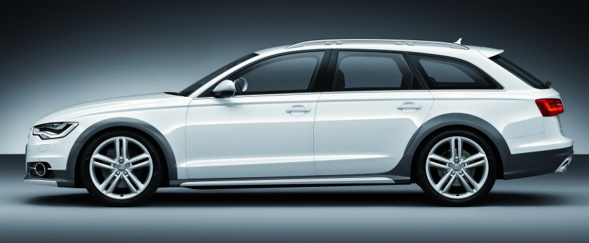 Audi A6 allroad quattro – the Avant that drives on all roads Image #92664