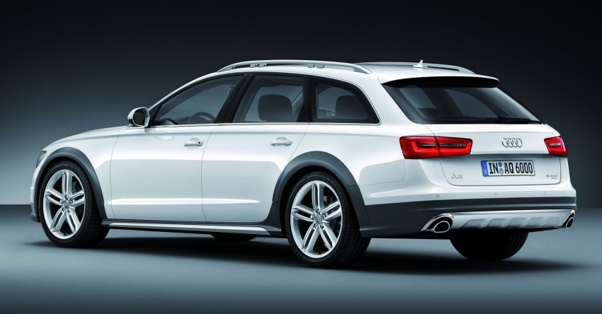 Audi A6 allroad quattro – the Avant that drives on all roads Image #92663