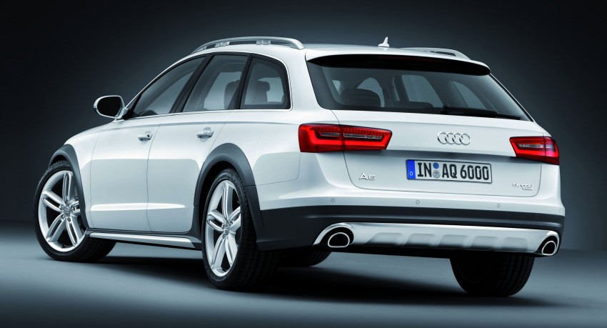 Audi A6 allroad quattro – the Avant that drives on all roads Image #92662
