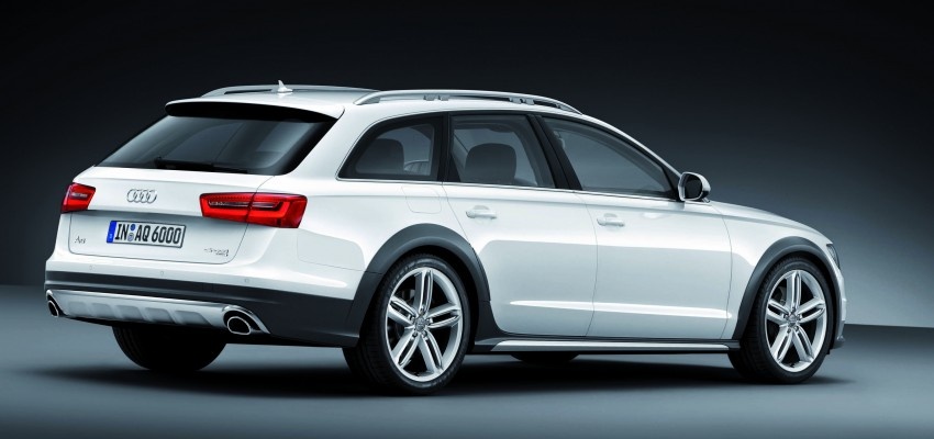 Audi A6 allroad quattro – the Avant that drives on all roads Image #92661