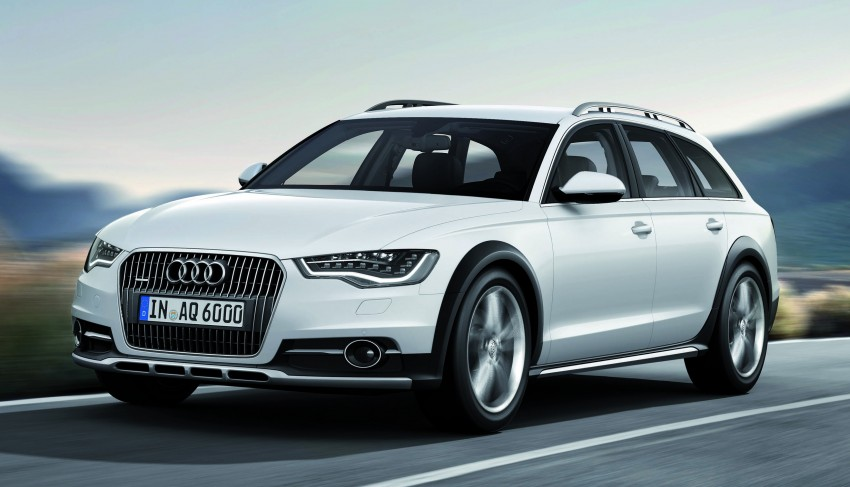 Audi A6 allroad quattro – the Avant that drives on all roads Image #92660
