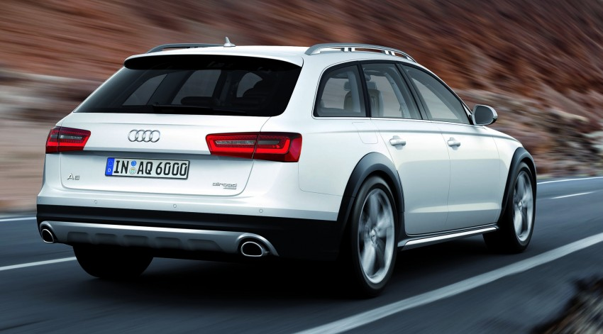 Audi A6 allroad quattro – the Avant that drives on all roads Image #92659